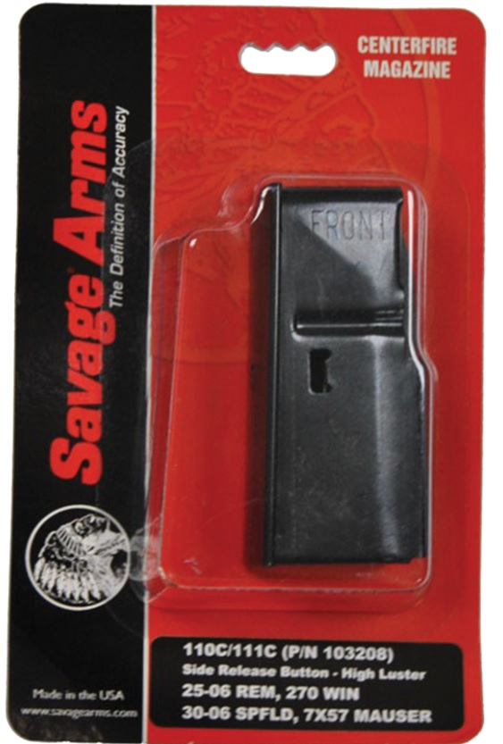 SAVAGE ARMS MAG BOTTOM RELEASE 55103