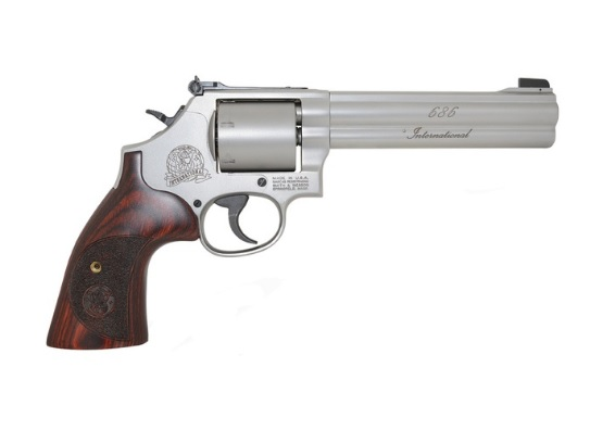SMITH AND WESSON MODEL 375 INTERNATIONAL 357 WIN MAG REVOLVER