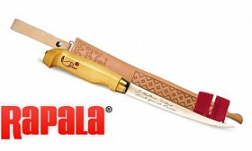 RAPALA 7 INCH BIRCH HANDLE FILLET KNIFE