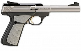 BROWNING BUCK MARK CAMPER STAINLESS STEEL UFX 22LR SEMI AUTOMATIC PISTOL