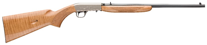 BROWNING SEMI AUTOMATIC MAPLE AAA 22 LR RIFLE