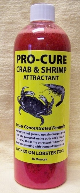 PRO-CURE CRAB AND SHRIMP ATTRACTANT 16OZ