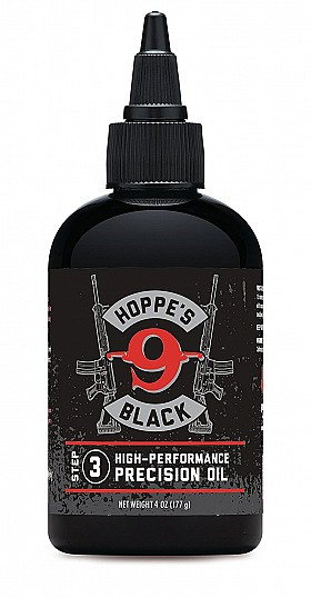 HOPPES 4OZ BLACK PRECISION OIL