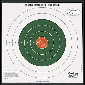 ALLEN REMINGTON BULLSEYE STYLE 100 YARD SIGHT IN