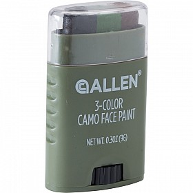 ALLEN 3-COLOUR CAMO FACE PAINT STICK