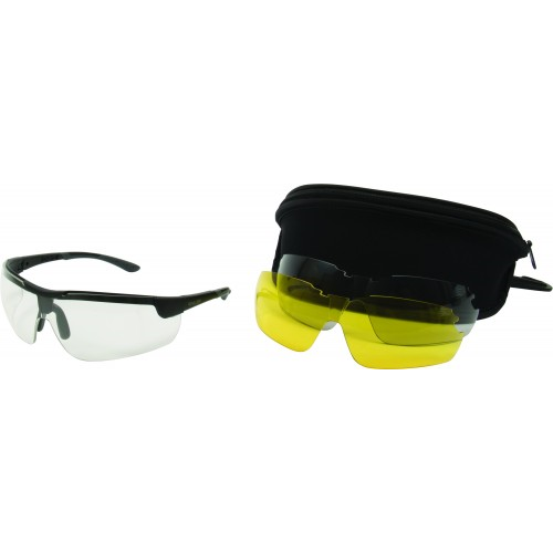 ALLEN ION BALLISTIC SHOOTING GLASSES LENS SET