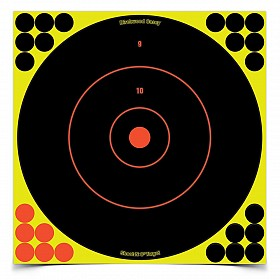 "BIRCHWOOD CASEY SHOOT-N-C 12"" BULLSEYE TARGET 5 PACK"