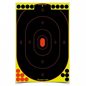 BIRCHWOOD CASEY SHOOT-N-C 12X18 SILHOUETTE TARGET 5 PACK