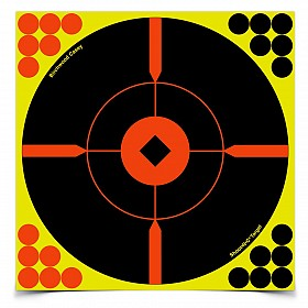 "BIRCHWOOD CASEY SHOOT-N-C 8"" BULLSEYE BMW TARGET 50 PACK"