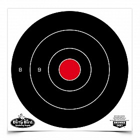 "BIRCHWOOD CASEY DIRTY BIRD 8"" BULLSEYE TARGET"