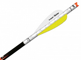 "NAP QUIKFLETCH TWISTER VANES 3"" YELLOW"