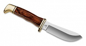 BUCK SKINNER COCOBOLA DYMONDWOOD HANDLE KNIFE