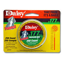 DAISY PRECISION MAX .177 CAL POINTED FIELD PELLETS