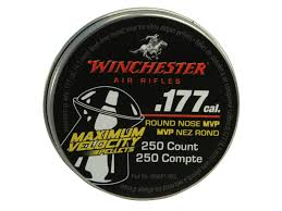 WINCHESTER .177 ROUND NOSE PELLET 250 PACK