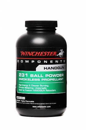WINCHESTER 231 BALL SMOKELESS POWDER