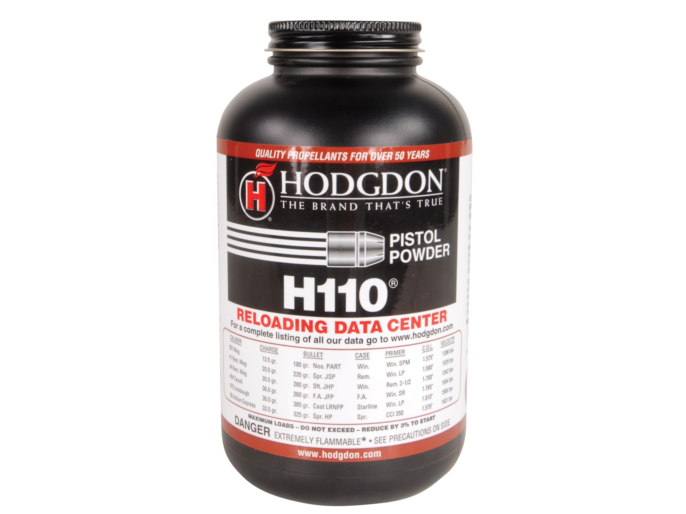 HODGDON H110 SMOKELESS POWDER