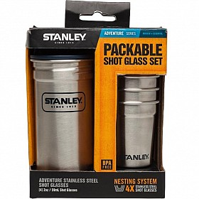 STANLEY COMBO STAINLESS STEEL SHOT GLASS SET