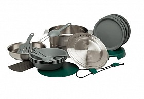 STANLEY ADVENTURE BASE CAMP COOK SET 19 PIECES