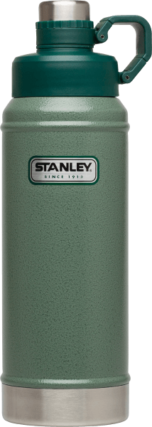 STANLEY CLASSIC VACUUM WATER BOTTLE HAMMERTONE GREEN 36 OZ