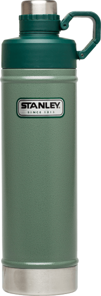 STANLEY CLASSIC VACUUM WATER BOTTLE HAMMERTONE GREEN 25 OZ