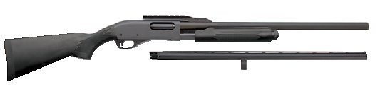 REMINGTON MODEL 870 EXPRESS SYNTHETIC FIELD AND HOME 12 GAUGE PUMPACTION SHOTGUN COMBO