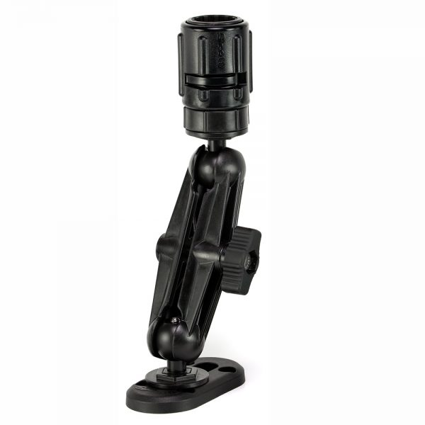 SCOTTY 151 BALL MOUNTING SYSTEM WITH GEAR HEAD AND TRACK