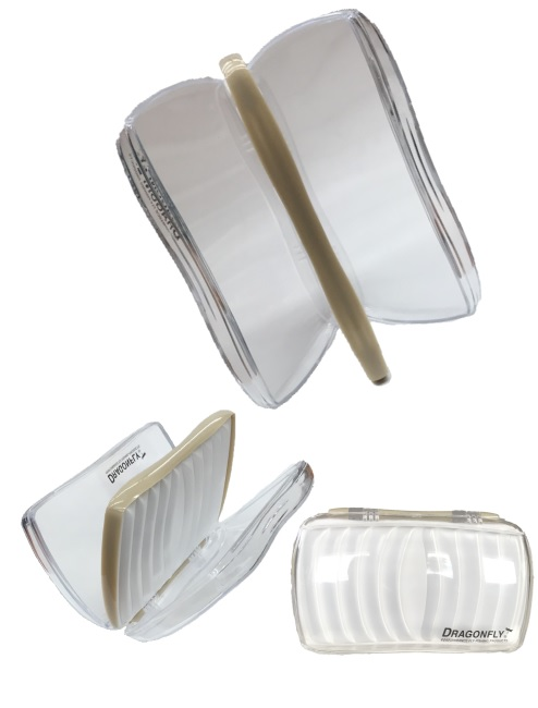 DRAGONFLY CLEAR TWO SIDED FLY BOX
