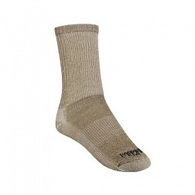 JB FIELDS EXPEDITION HIKER SOCKS TAUPE