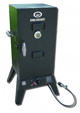 KING KOOKER LOW PRESSURE OUTDOOR SMOKER 2113