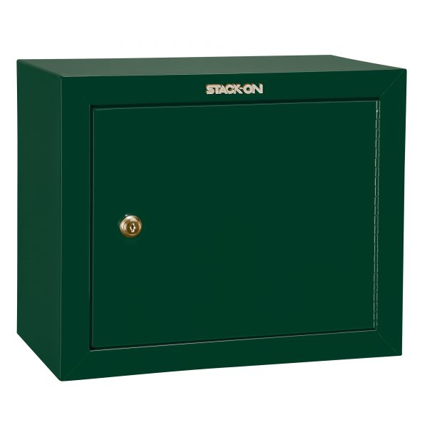 STACK ON PISTOL/AMMO CABINET GREEN GCG900