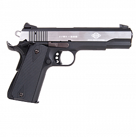GSG 1911 STAINLESS TWO-TONE,  22LR SEMI AUTOMATIC PISTOL.