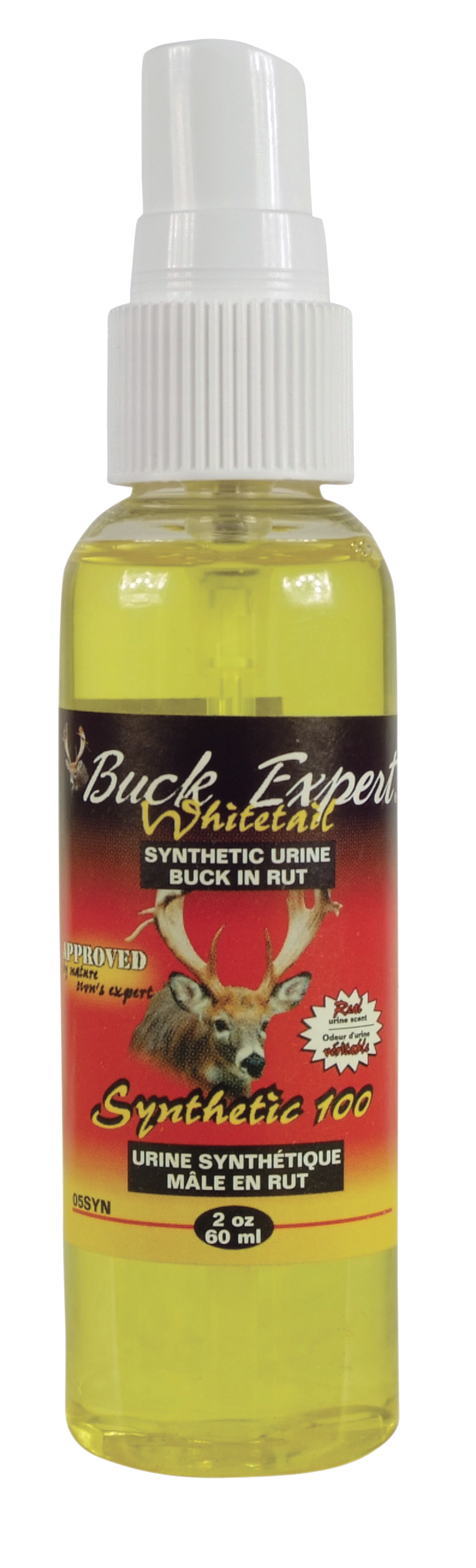 BUCK EXPERT WHITETAIL SYNTHETIC BUCK URINE