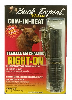 BUCK EXPERT RIGHT ON COW-IN-HEAT CALL
