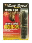 BUCK EXPERT RIGHT ON YOUNG BULL MOOSE CALL