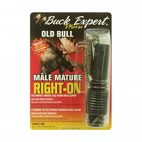 BUCK EXPERT RIGHT ON MATURE BULL MOOSE CALL