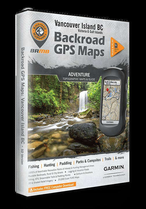 BACKROAD MAP BOOK VANCOUVER ISLAND