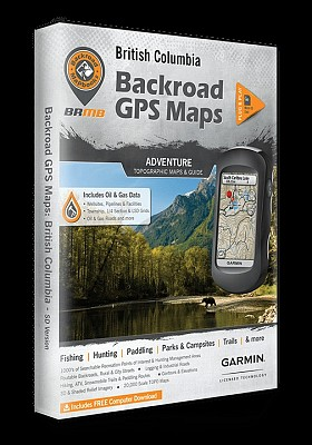BACKROAD MAP BOOK BRITISH COLUMBIA