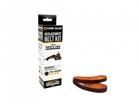 WORK SHARP KNIFE AND ROOL MEDIUM GRIT BELT KIT