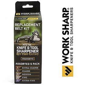 WORK SHARP BELT KIT FOR KEN ONION EDITION KNIFE AND TOOL SHARPENER