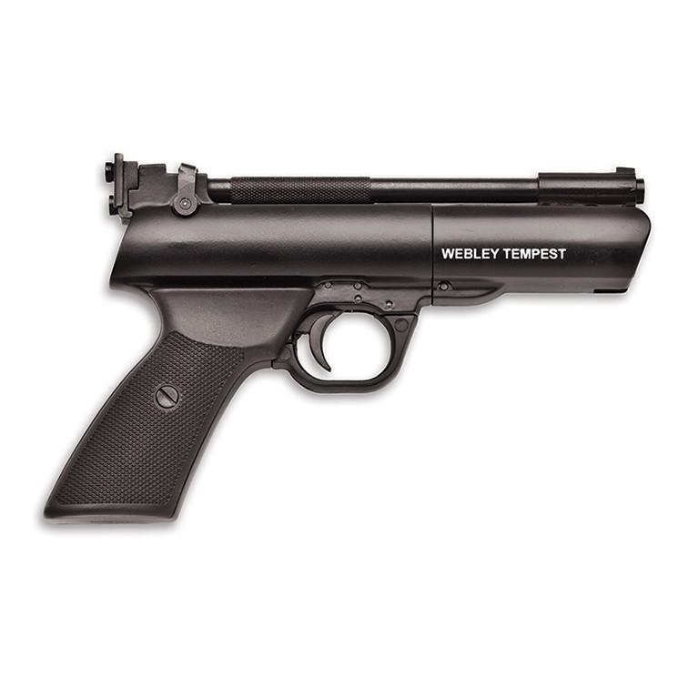 WEBLEY AND SCOTT TEMPEST PISTOL 177 CAL