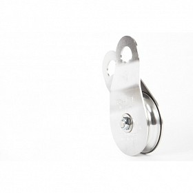 PW SINGLE SWING SIDE PULLEY WITH STAINESS STEEL PLATES