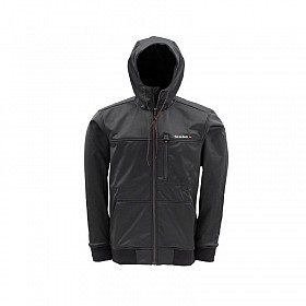 SIMMS BLACK ROGUE FLEECE HOODIE