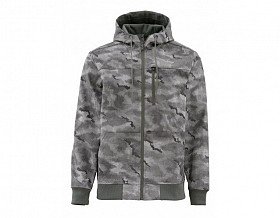 SIMMS ROGUE FLEECE HOODIE HEX CAMO