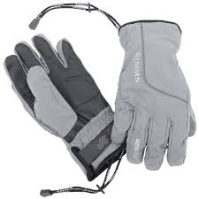 SIMMS PRODRY GLOVE AND LINER STEEL