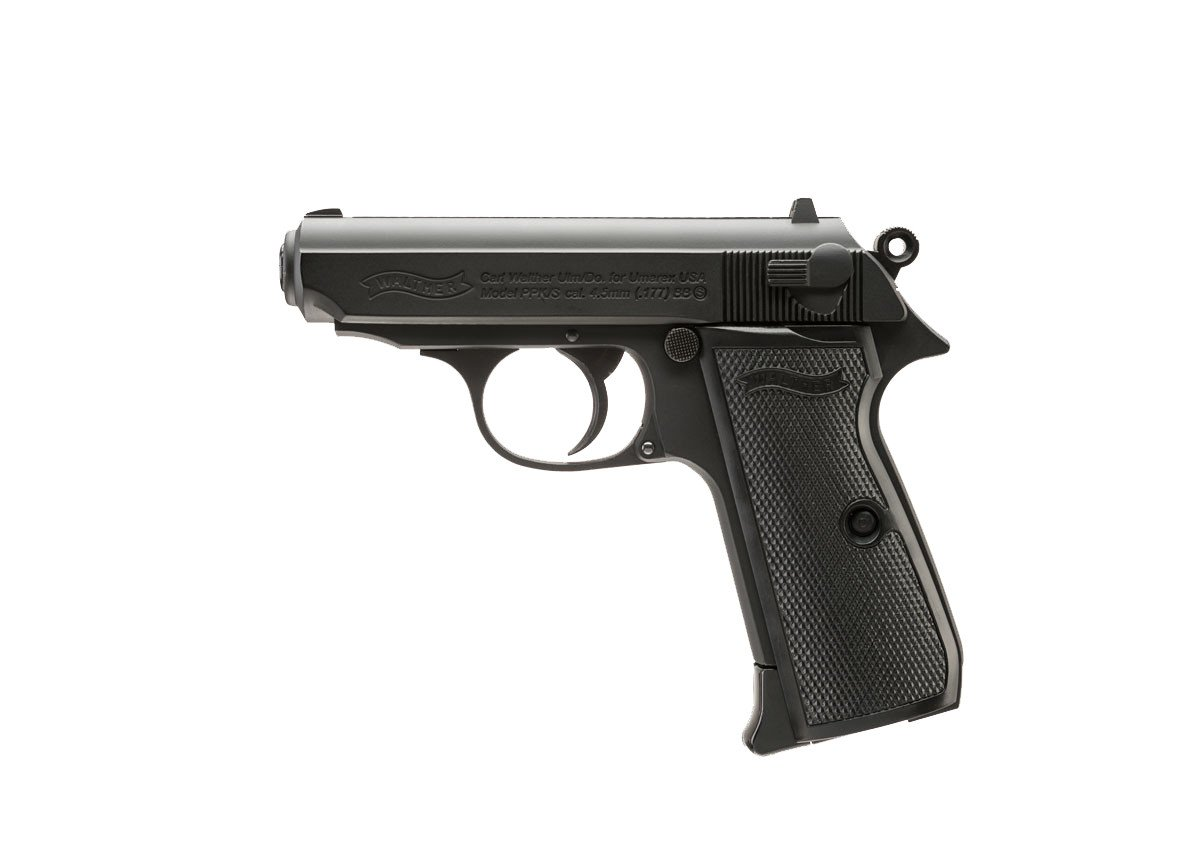 WALTHER PPK/S BLOWBACK BB .177