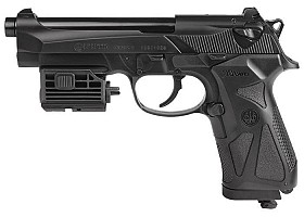 BERETTA 90TWO CO2 BB PISTOL AND LASER
