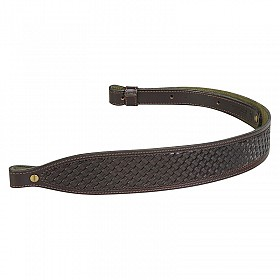 LEVY'S VEG TAN LEATHER HUNTING SLING BLACK