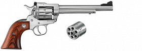 RUGER SINGLE SIZE STAINLESS STEEL 22LR REVOVLER