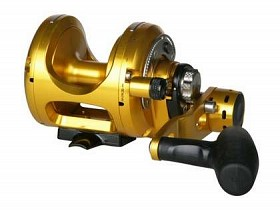 OKUMA MAKAIRA 2-SPEED LEVER DRAG REEL