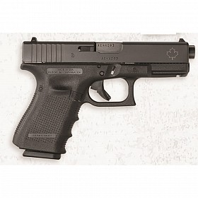 "GLOCK G19 G4 ""CANADIAN"" 9MM SEMI-AUTOMATIC PISTOL."